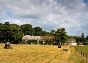 Property on a rural estate