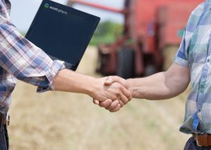Handshake to agree a Farm Business Tenancy