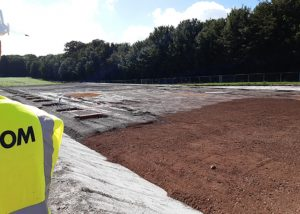 Groundworks for new agricultural building
